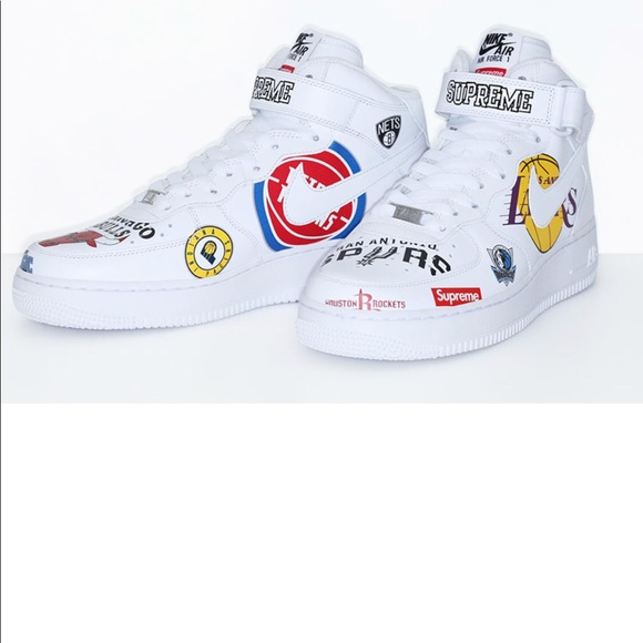 best service 539bc a6832 Nike x supreme nba collab Air force 1 NWT